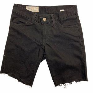 Imogene & Willie Raw Hem Denim Bermuda Shorts